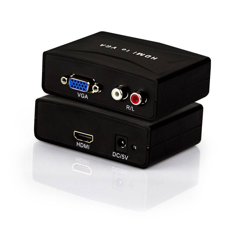 Conversor Vga Femea P, Hdmi+Audio-Vac V2H100 Exbom