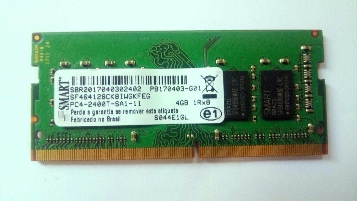 Memoria Ddr4 2400 4Gb P, Notebook Smart