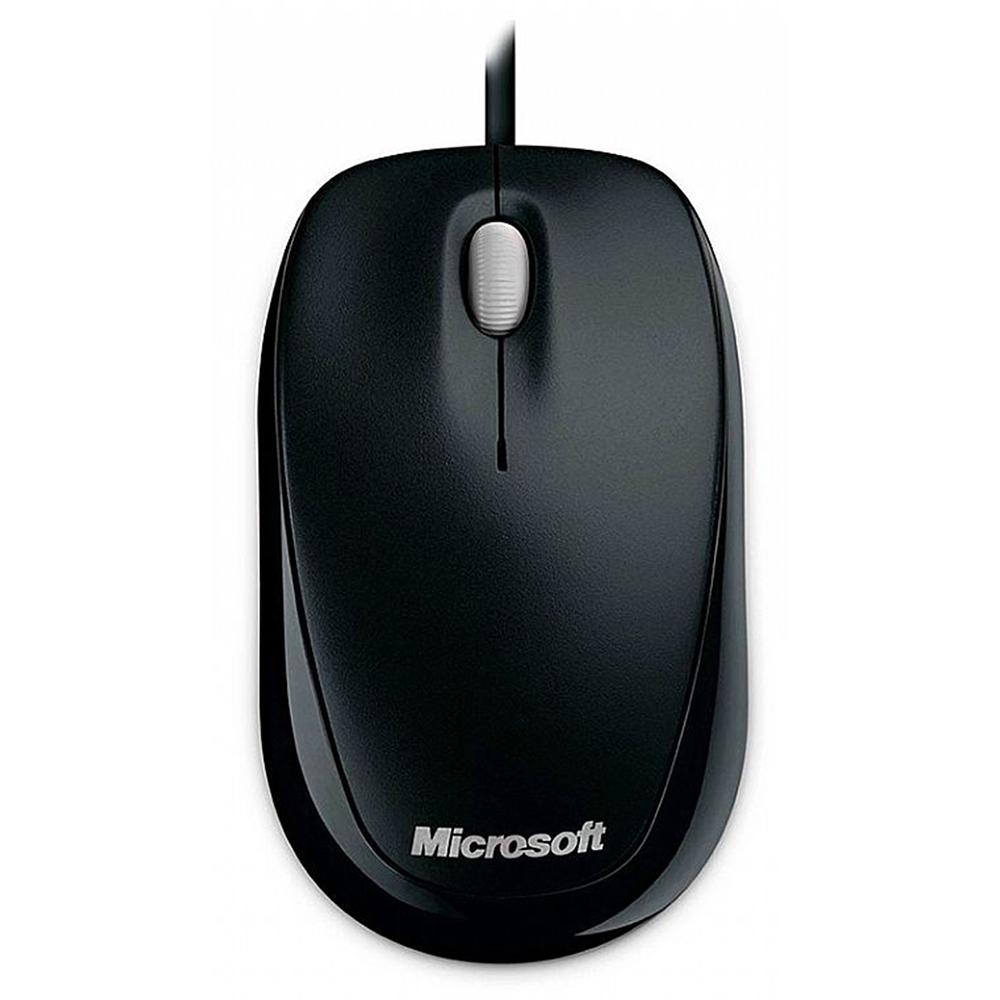 Mouse Optico Usb Wired-U81-00010 Microsoft-Preto