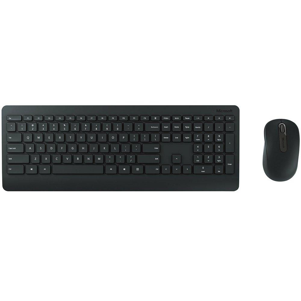 Kit Teclado E Mouse Wireless Microsoft 900