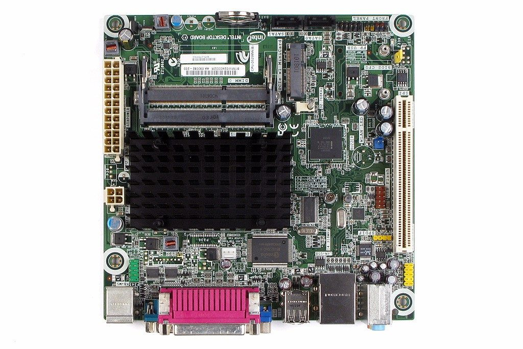 Placa Mae Intel Mini Itx D525Mw-Itx
