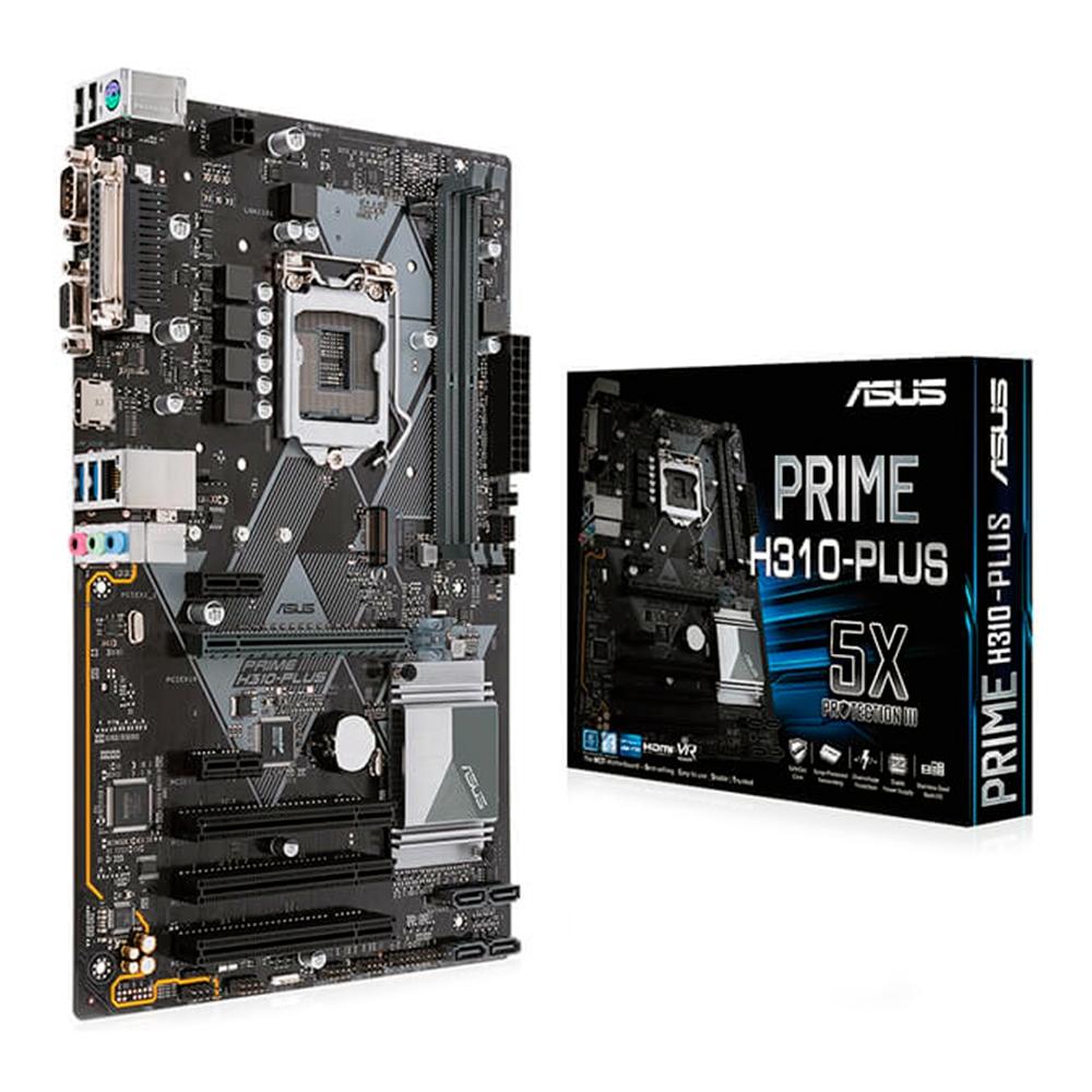 Placa Mae 1151 Asus Prime H310-Plus Ddr4