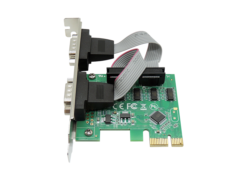 Placa Pci-Express  C, 2 Serial Db9-Kp-T89  Knup