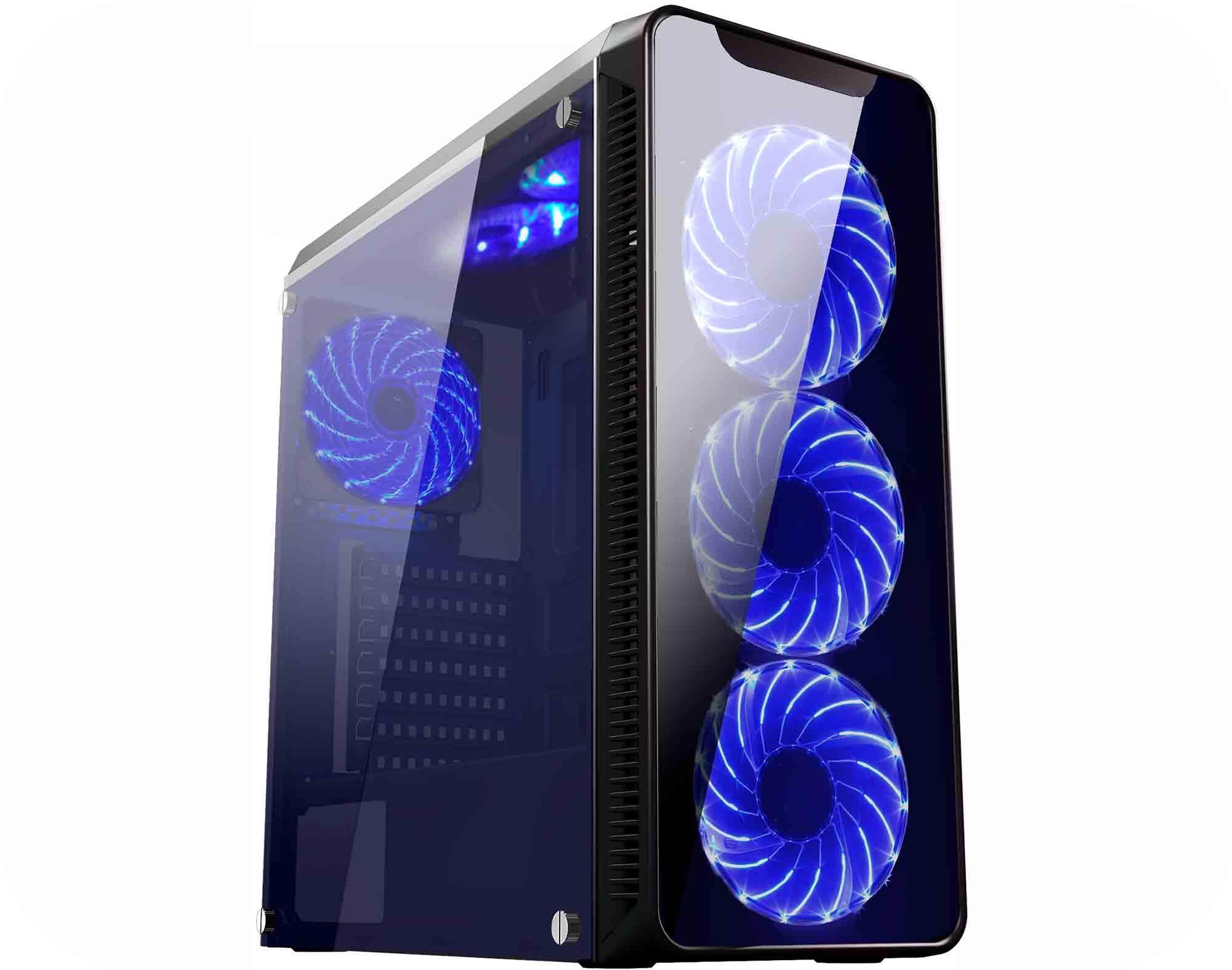 Gabinete K-Mex Gamer Infinity-2-Cg-02G8 S,  Fonte