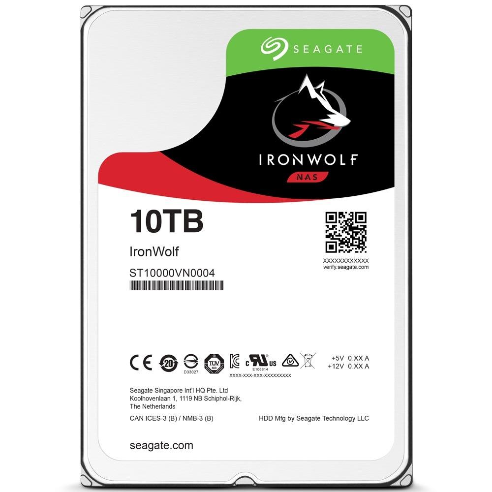 Hd 10Tb Sata 3(Nas) Seagate-Iron Wolf-St10000Vn004