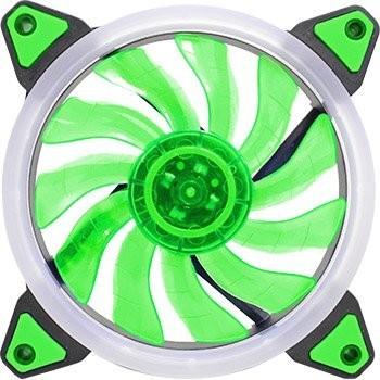 Fan P, Gab, Gamer12 Cm K-Mex Led Verde -Af-G1225