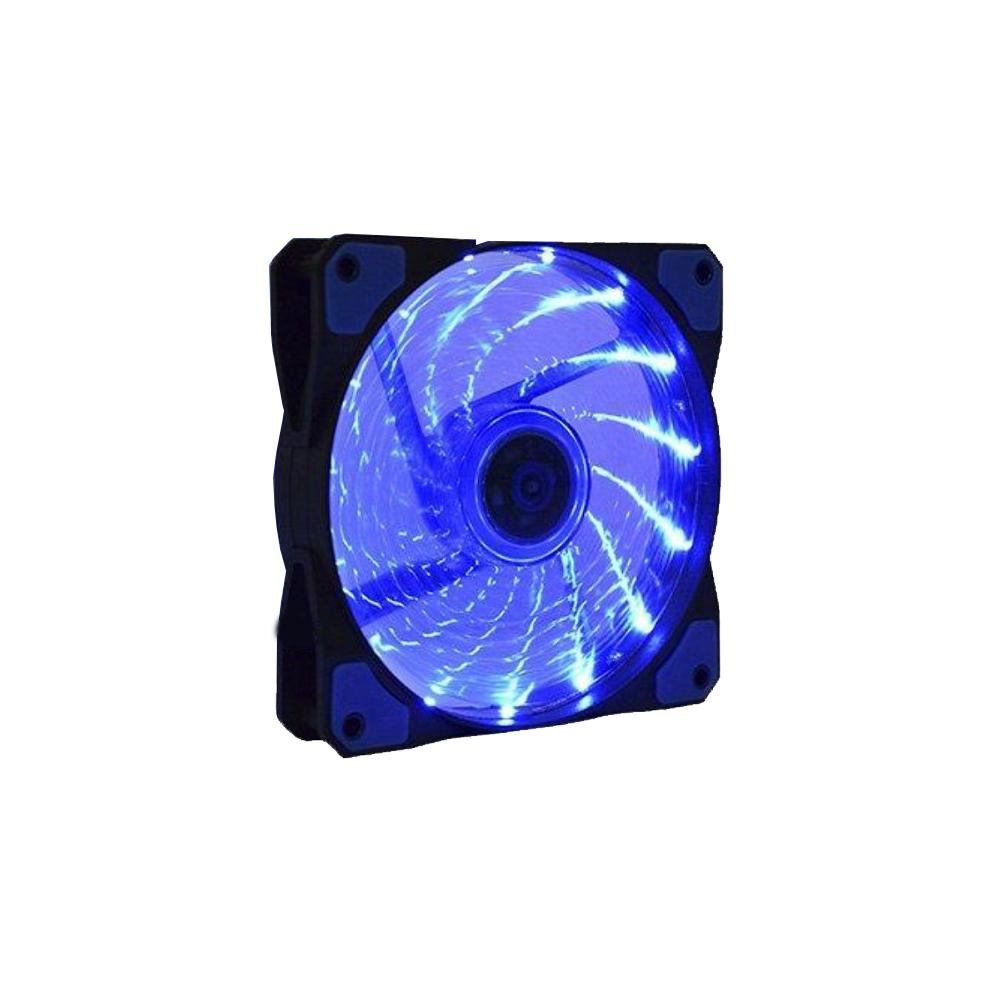 Fan P, Gab, Gamer12 Cm K-Mex Led Azul -Af-D1225