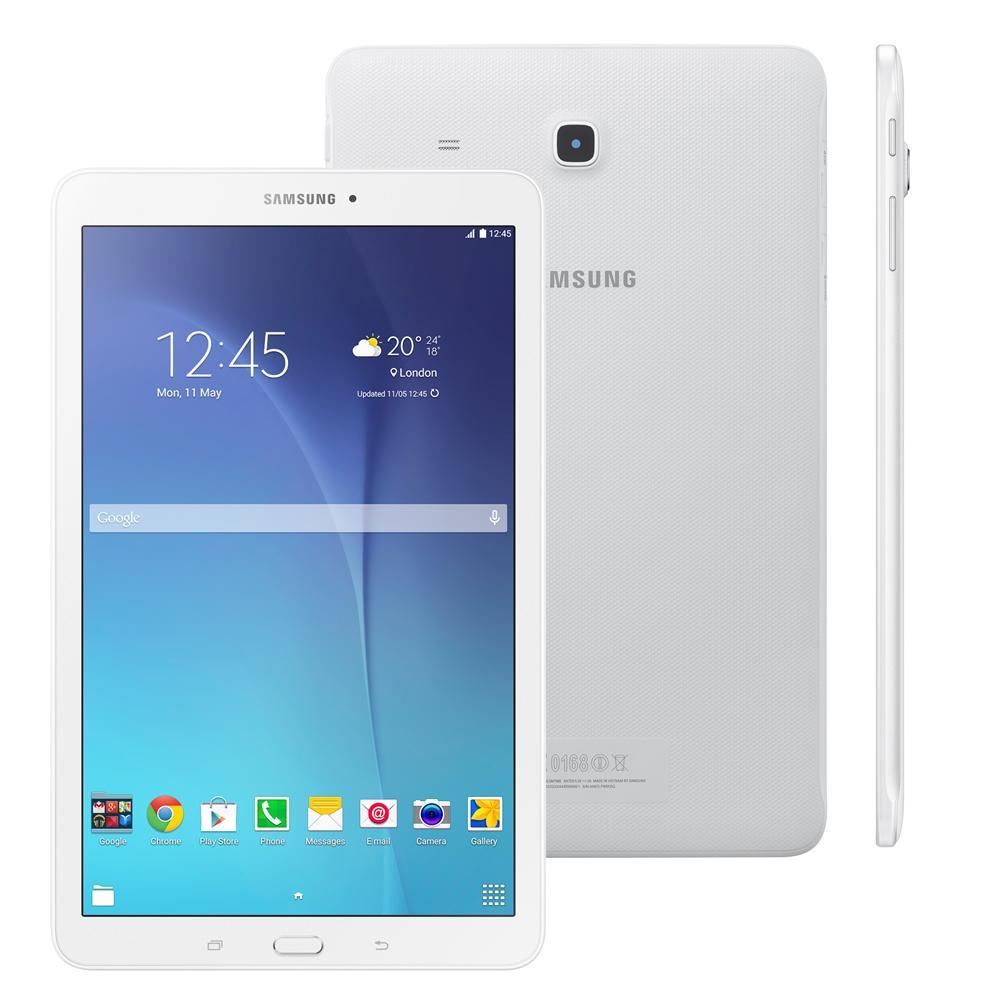 Tablet Samsung Galaxy Tab E 9 T561M-9.6P-3G-Branco