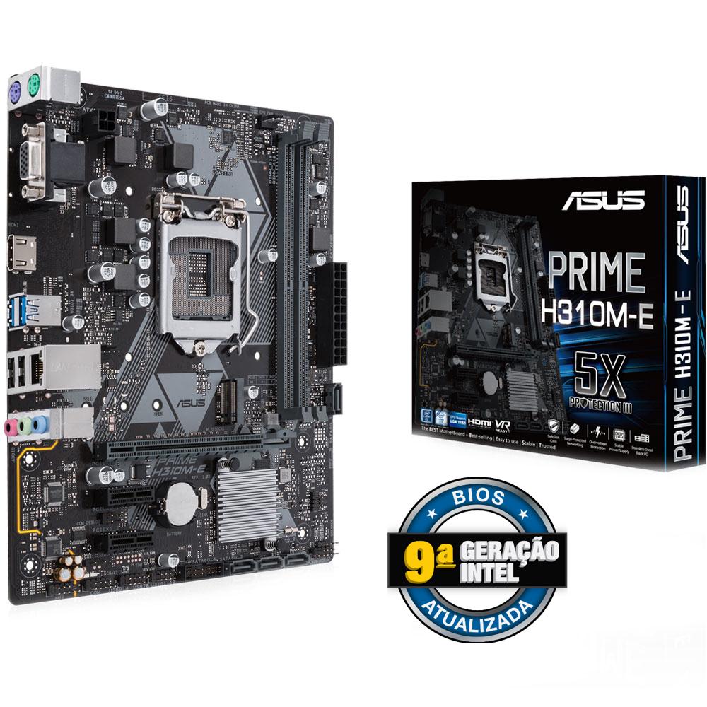 Placa Mae 1151 Asus Prime H310M-E, Br