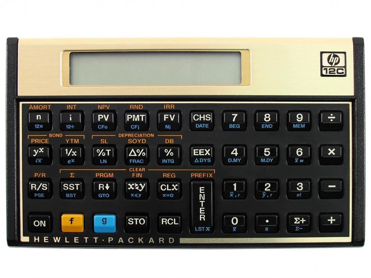 Calculadora Financeira 12C Hp (F2230A#b17)