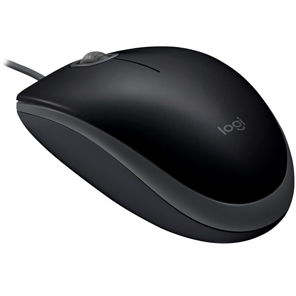 Mouse Óptico Usb M110 Silent Logitech Preto