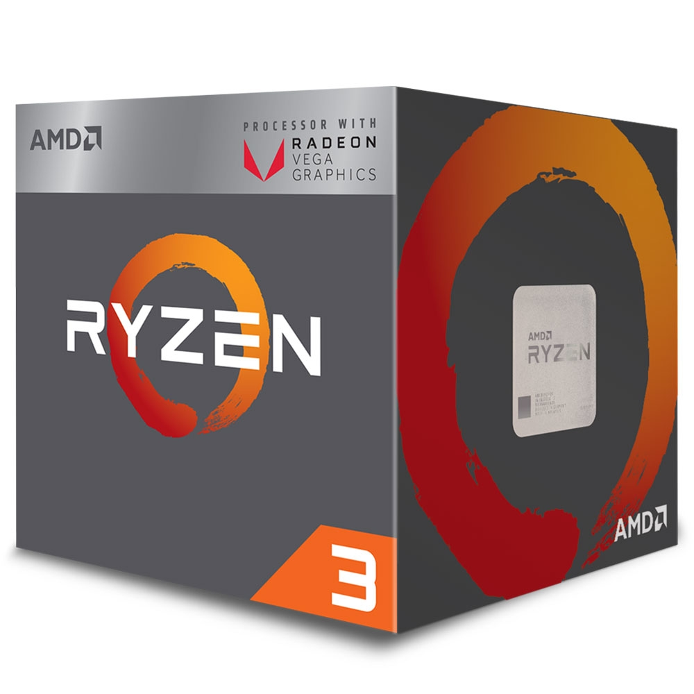 Proc Amd Ryzen 3 2200G 3.5Ghz 4 Core Am4 6 Mb