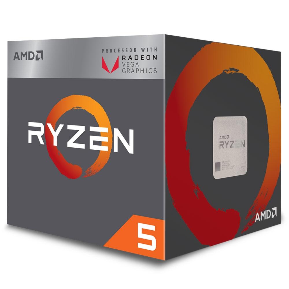 Proc Amd Ryzen 5 2400G 3.6 Ghz 4 Core Am4 6 Mb
