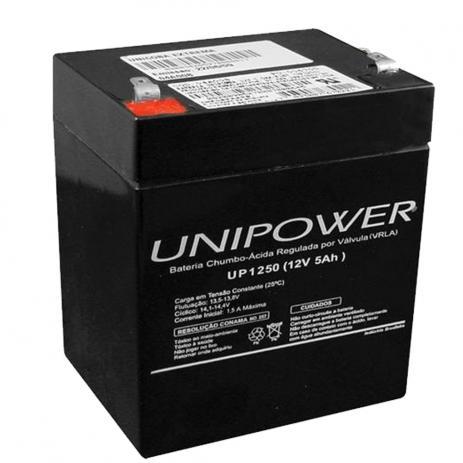 Bateria Selada 12 V 5.0 Ah Estacionaria Unipower
