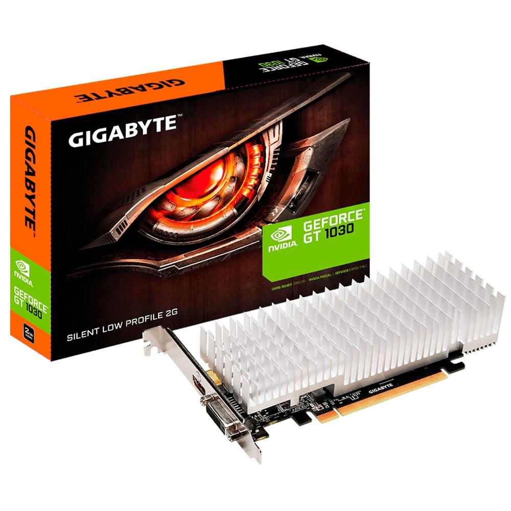 Placa De Videio Geforce Gt1030 2Gb Gddr5  64 Bits Low Profile Gigabyte