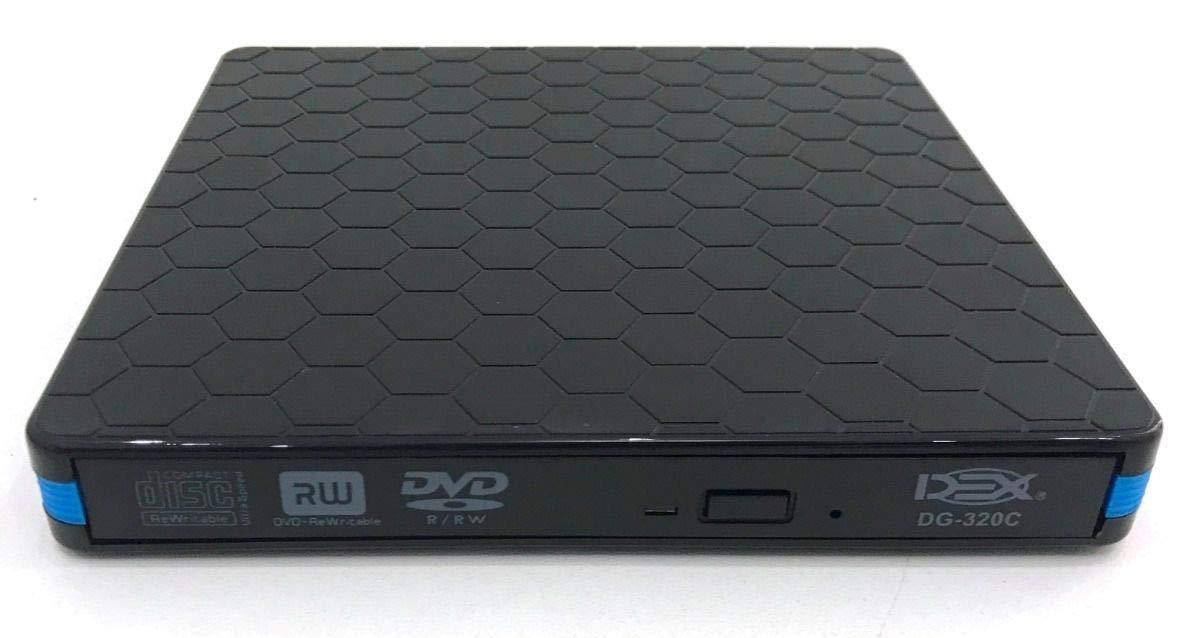 Gravador De Dvd Ext.usb 3.0- Dg-320C-Dex  Preto
