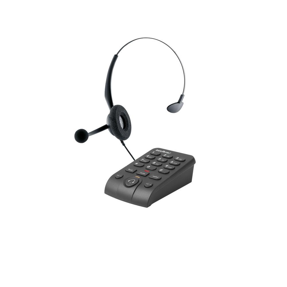 Telefone Headset Hsb-50 C, Base Discadora Intelbras