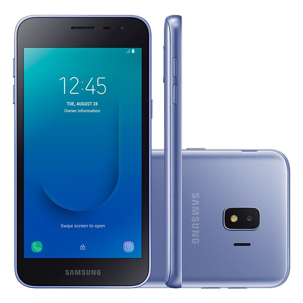 Smartphone Samsung -Galaxy J2 Core Prata 16Gb