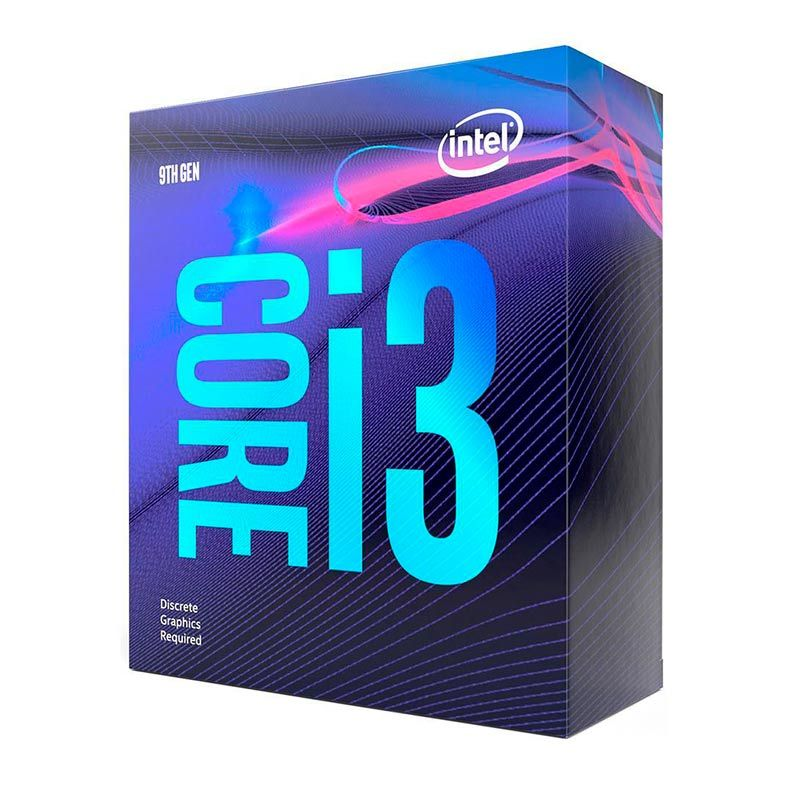 Proc Intel 1151 Core I3-9100F 3.6Ghz Box