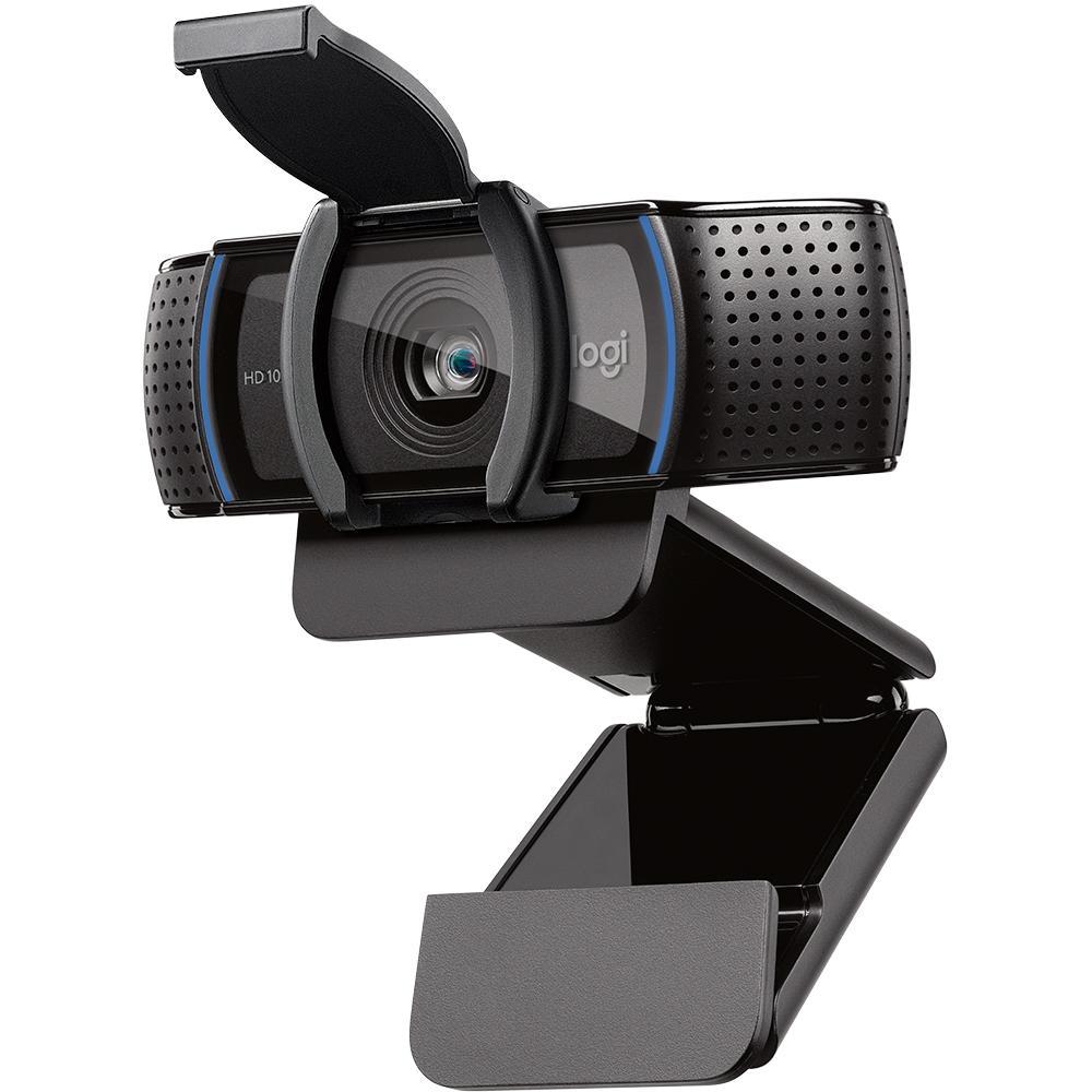 Web Cam Logitech-Hd, C920S-Pro-Full Hd1080P