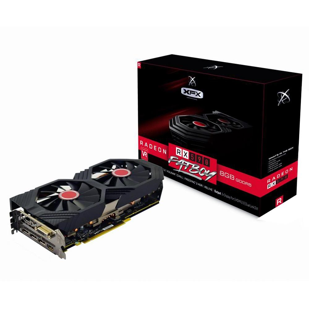 Placa De Video Radeon - Rx-590-Oc - Fatboy - 8Gb - Gddr5 - Pci-Exp - 256 Bits - Xfx