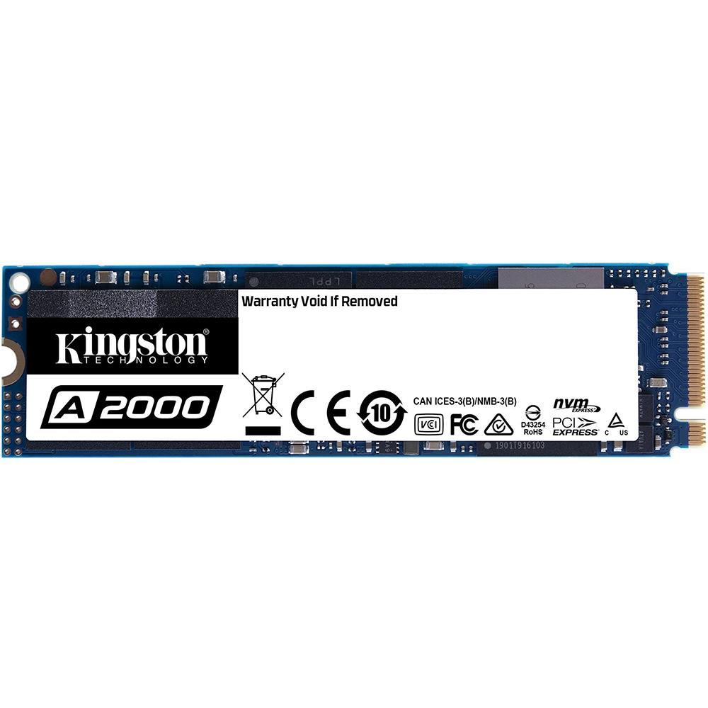 Ssd Kingston 250 Gb M2 A2000 -Sa2000M8, 250Gb