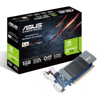 Placa De Videio Geforce Gt 710 - 1Gb - Gddr5 - Asus