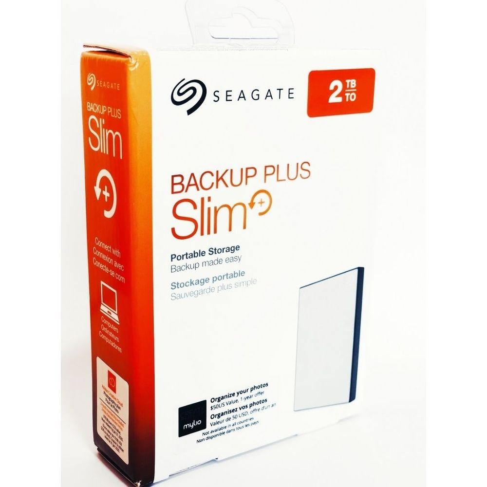 Hd Ext Usb 2Tb Seagate Backup Plus Slim Usb 3.0