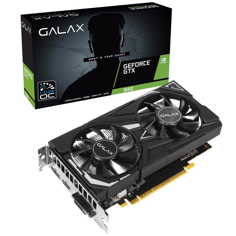 Vga Pci-E 4Gb Galax Geforce Gtx1650-Ex128Bit Gddr5