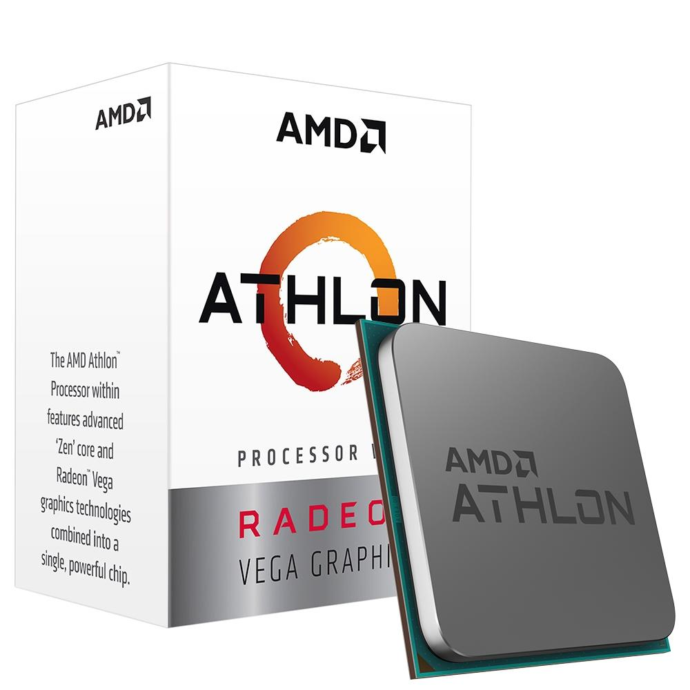 Proc Amd Athlon 3000G 3.5Ghz  2 Core Am4- 4Mb