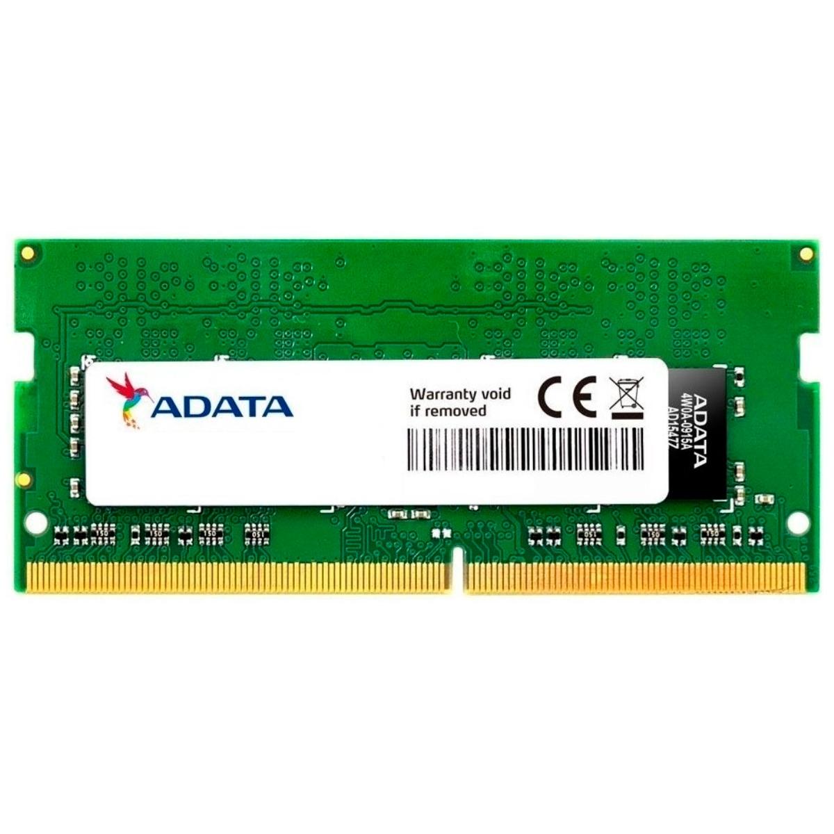 Memoria Ddr4 2400Mhz 4Gb P, Notebook Adata