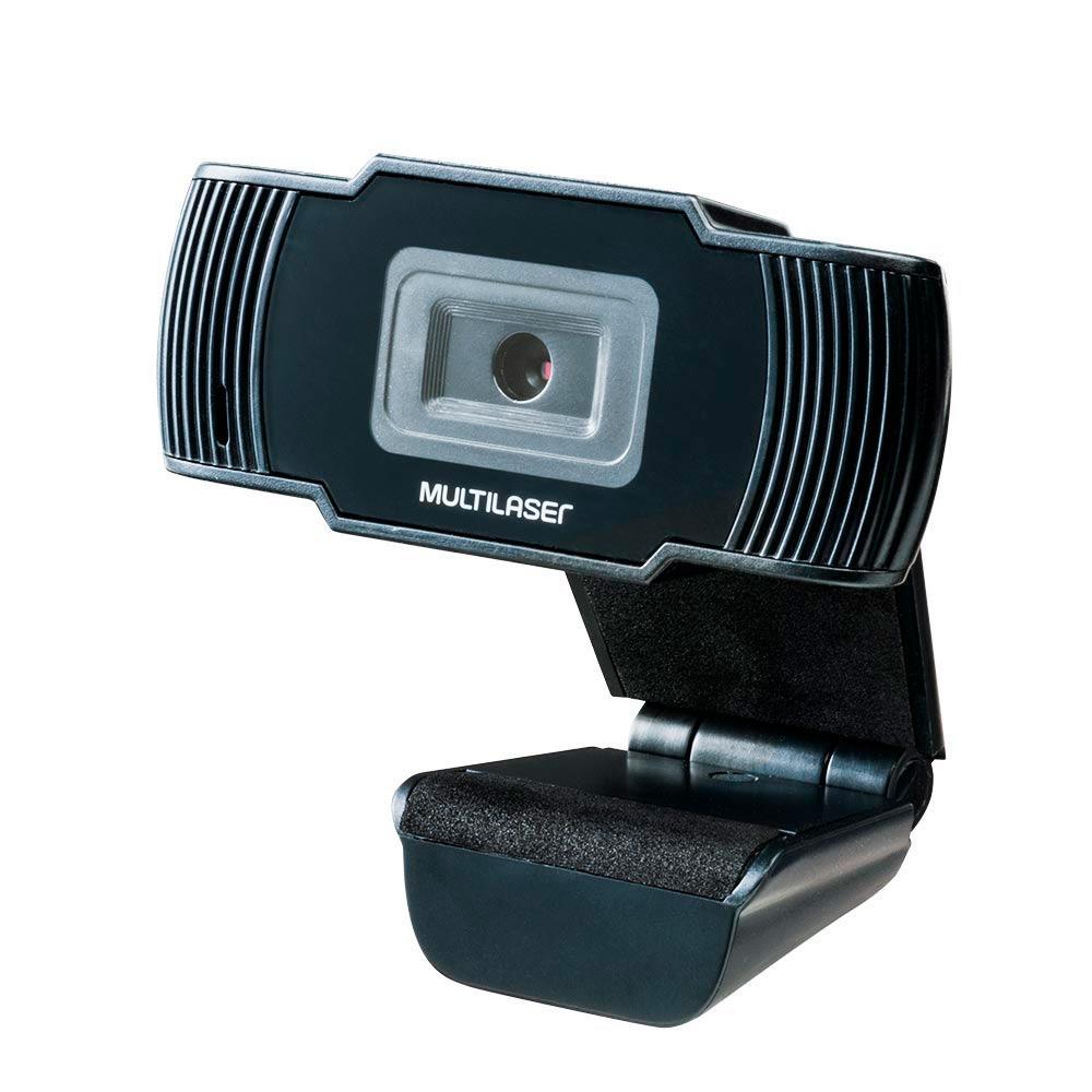 Web Cam Multilaser-Office Hd, 720P, 30Fds-Ac339