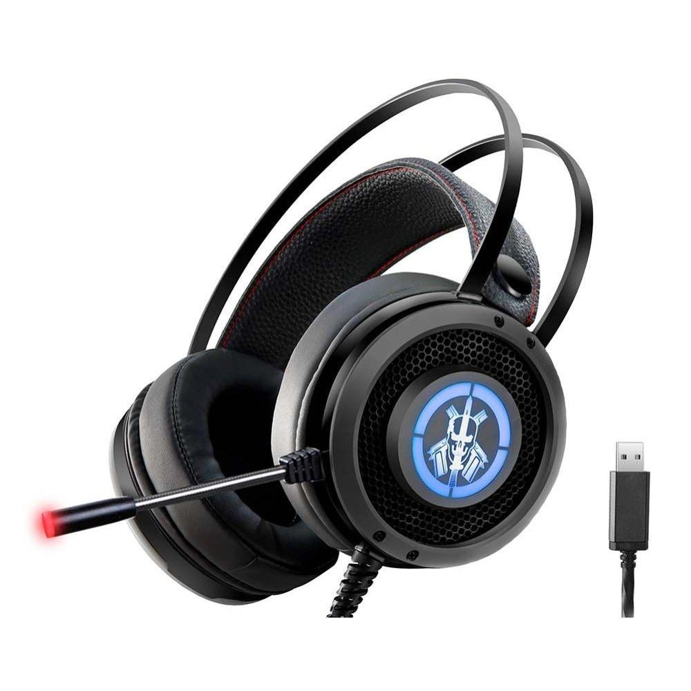 Fone+Mic Gamer-Headset Bope2-Usb-Ar56-Kmex