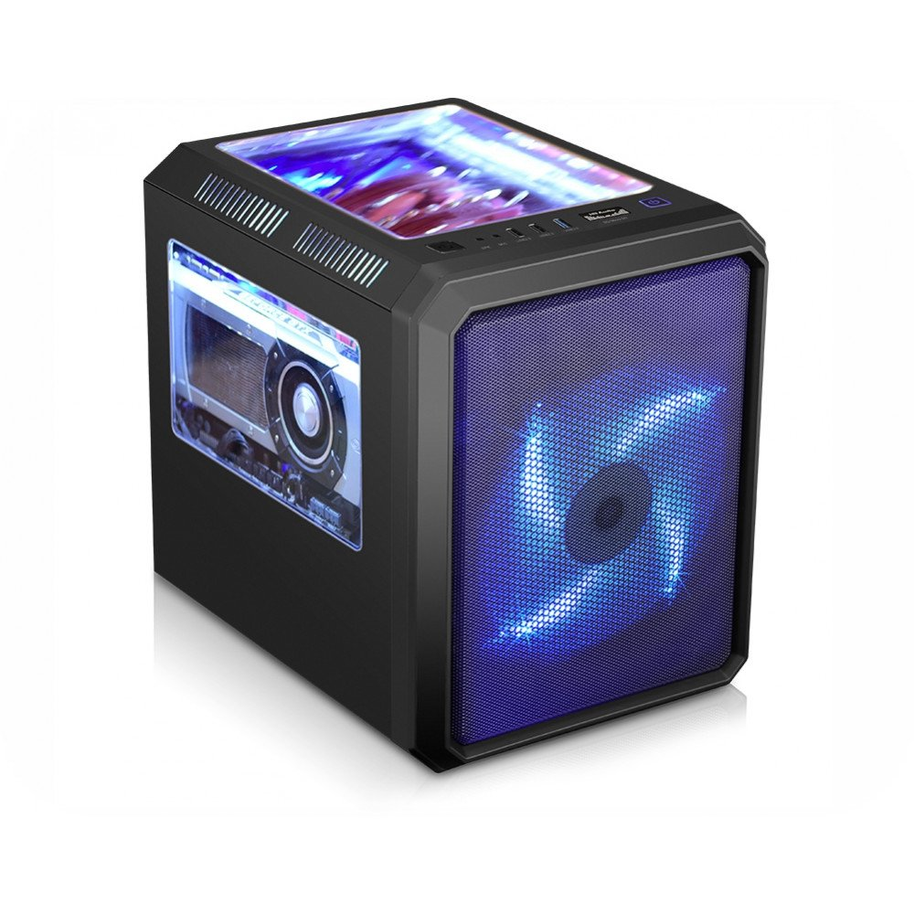 Gabinete K-Mex Gamer Microcraft Cg-01Rc S, Fonte