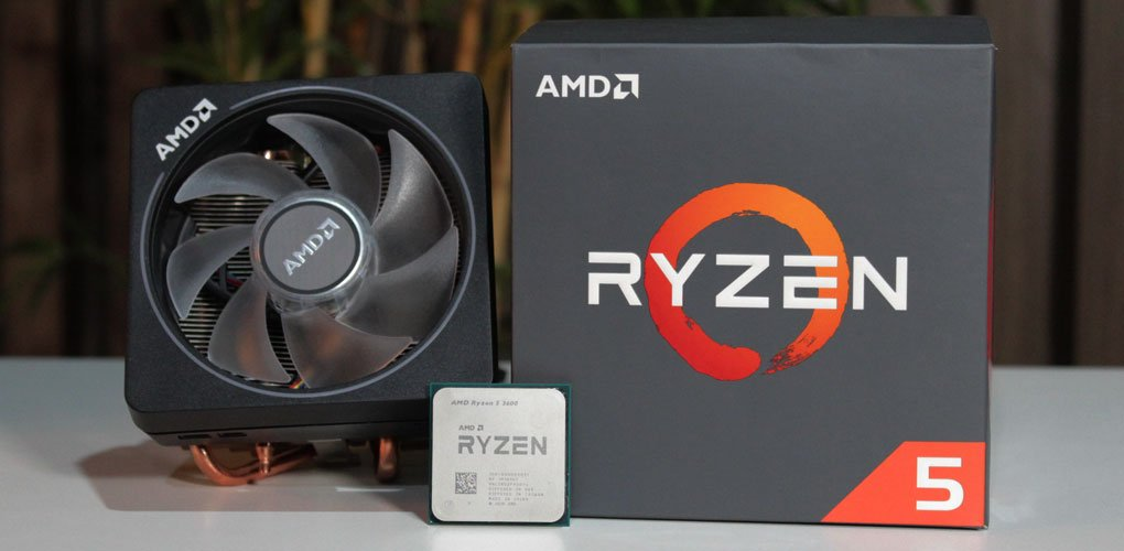 Proc Amd Ryzen 5 3600 3.6 Ghz 6 Core  Am4 32Mb