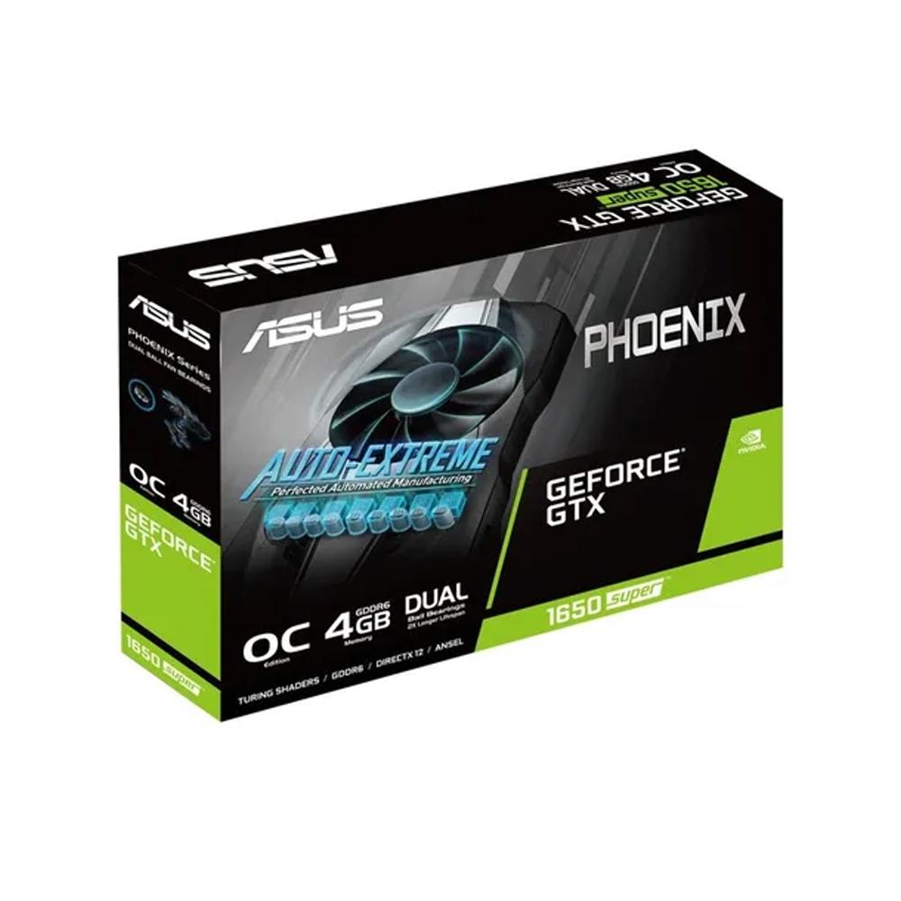 Vga Pci-E 4Gb Asus Geforce-1650 Super 128Bit Gddr6