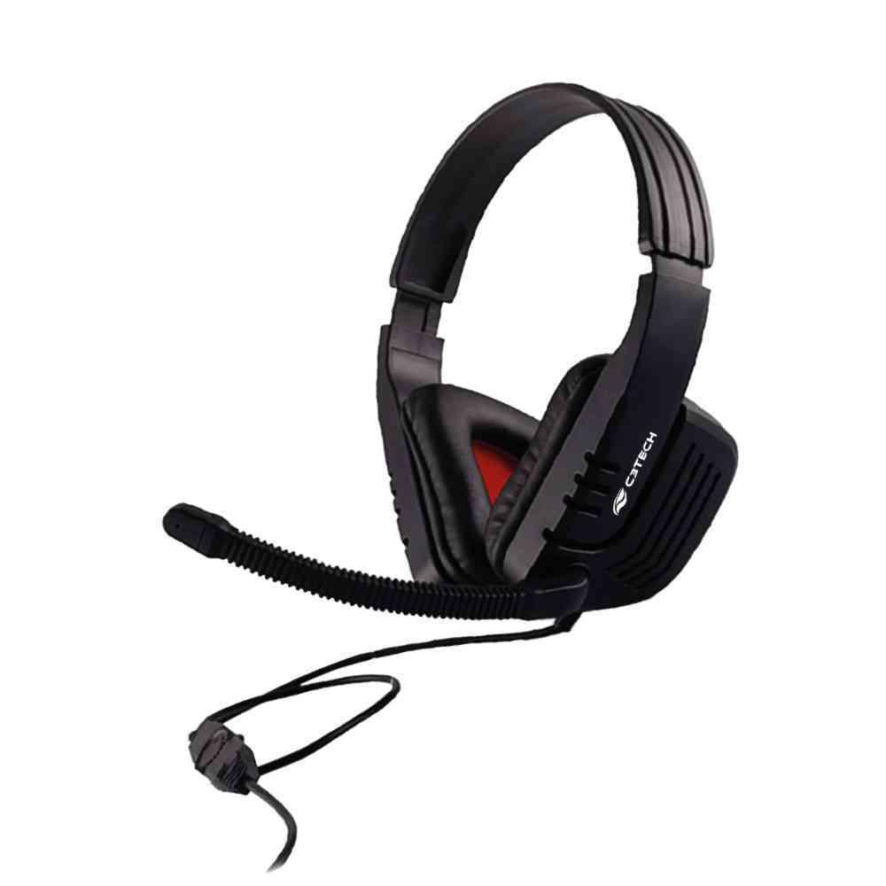 Fone+Mic Gamer-Headset Mi-2558Rb C3Tech