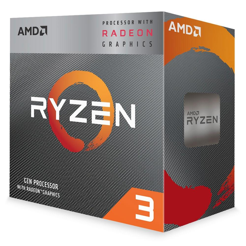 Proc Amd Ryzen 3 3200G 3.6 Ghz 4 Core  Am4 4Mb