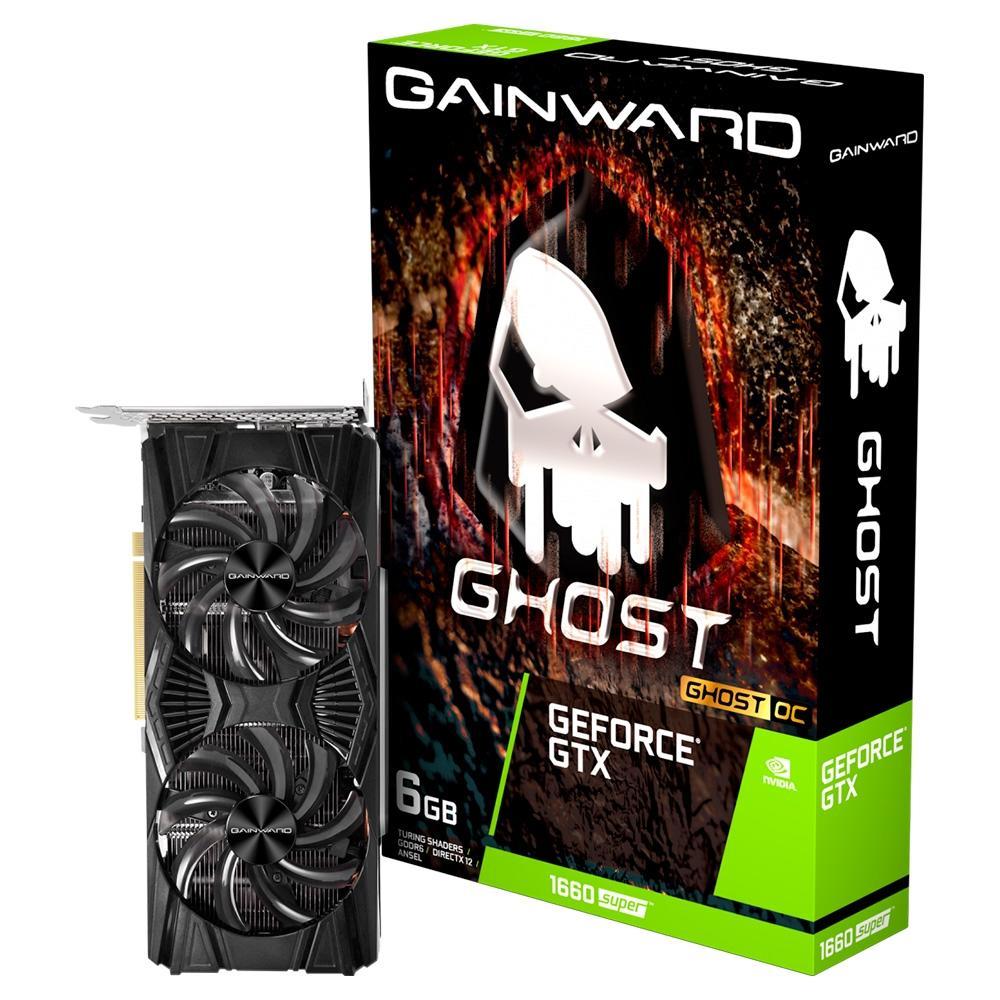 Placa De Video Pci-E 6Gb Gainward Ghost Geforce-Gtx1660 Super