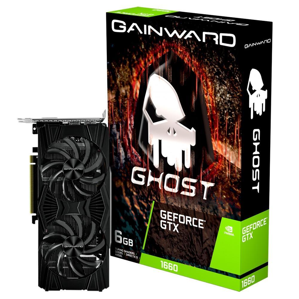 Placa De Video Pci-E 6Gb Gainward Ghost-6G Geforce-Gtx1660