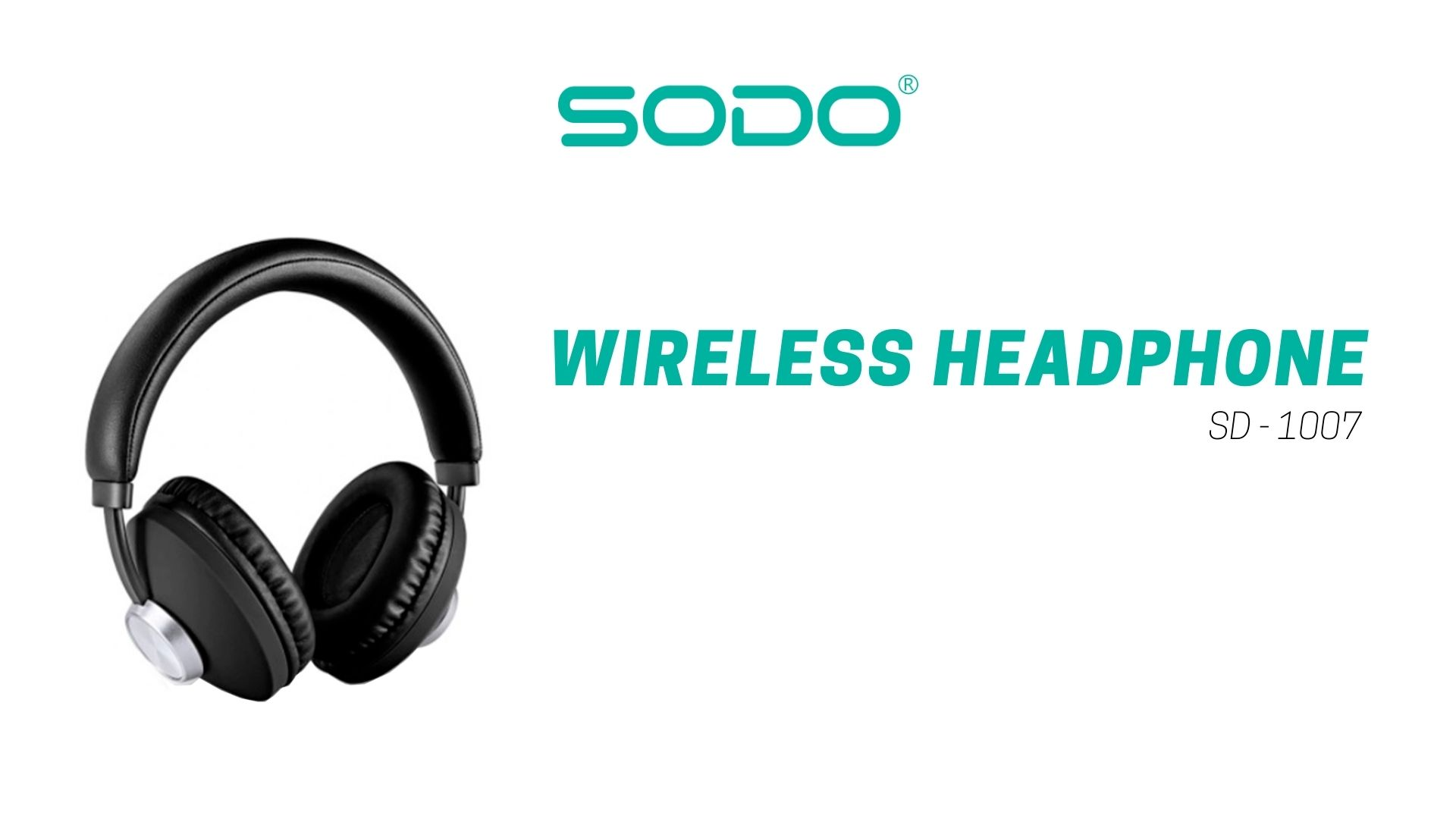Fone De Ouvido Headset Bluetooth-5.0 1007-Sodo