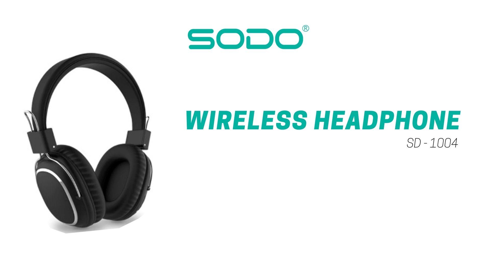 Fone De Ouvido Headset Bluetooth-5.0 1004-Sodo