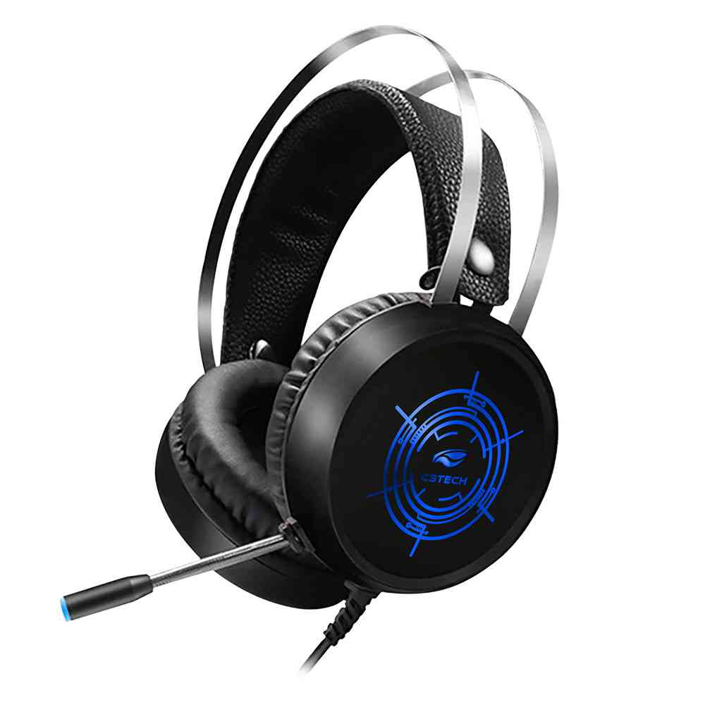 Fone+Mic Gamer-Headset-Harrier Ph-G330Bk C3Tech
