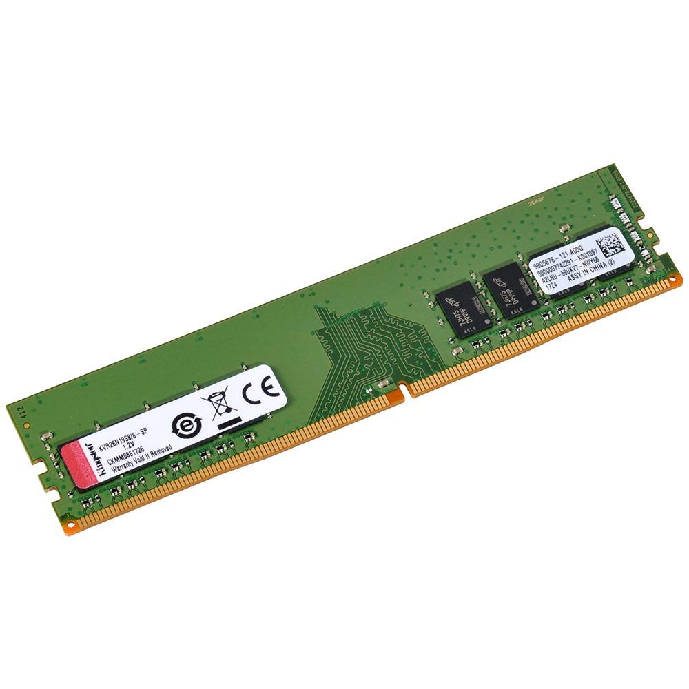 Memoria Ddr4 2666 8Gb Kingston -Kvr26N19S8, 4