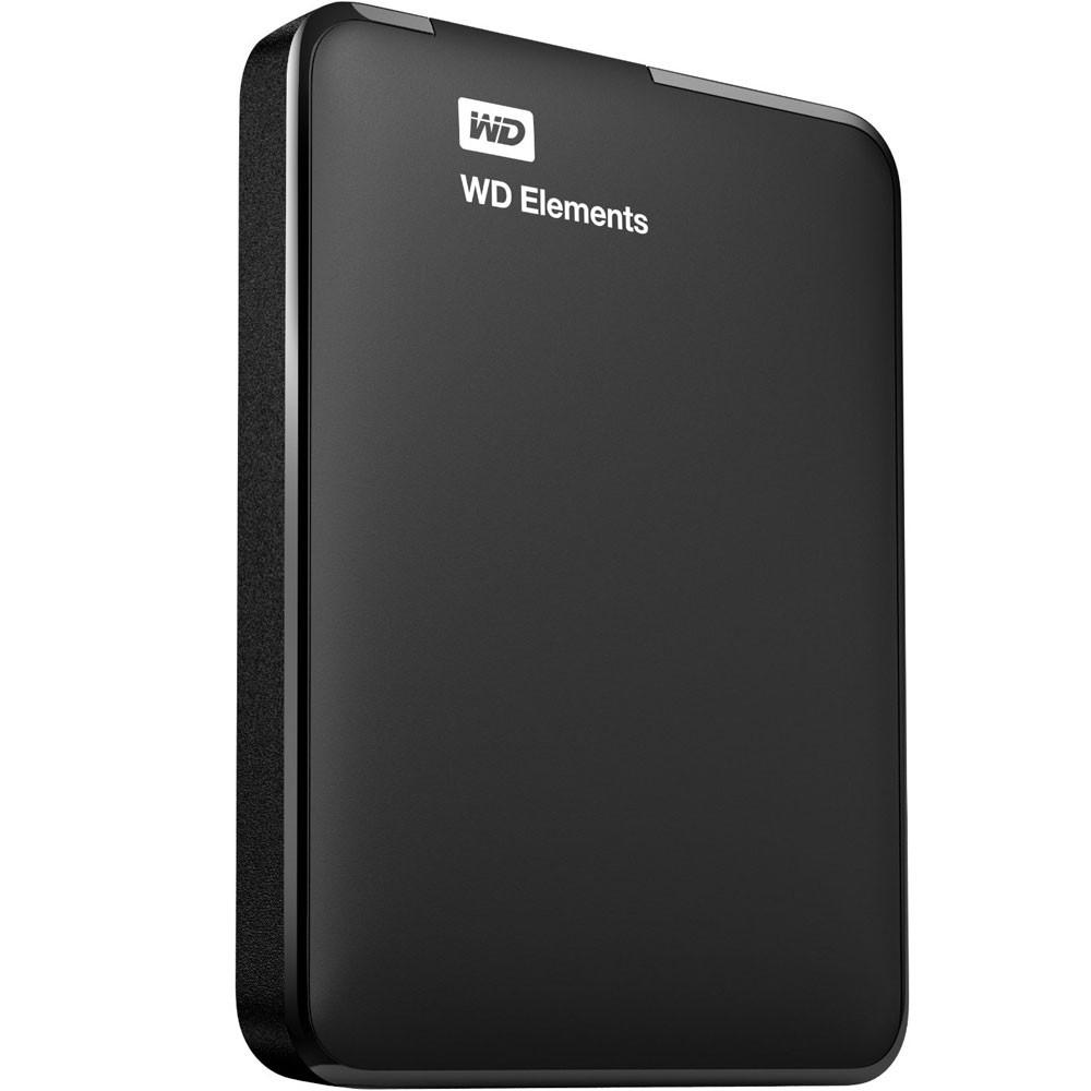 Hd Ext Usb 2Tb W.digital-Wd Elements 3.0 Preto - Wdbu6Y0020Bbk
