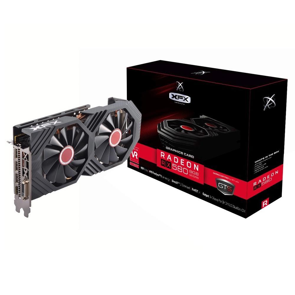 Vga Pci-E 8Gb Xfx-Radeon Rx-580-Oc+ Gddr5-256Bits-