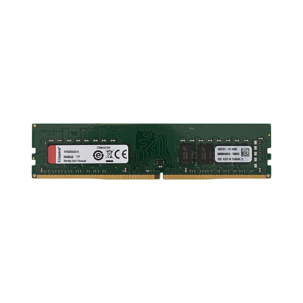 Memoria Ddr4 3200 16Gb Kingston -Kvr32N22D8, 16
