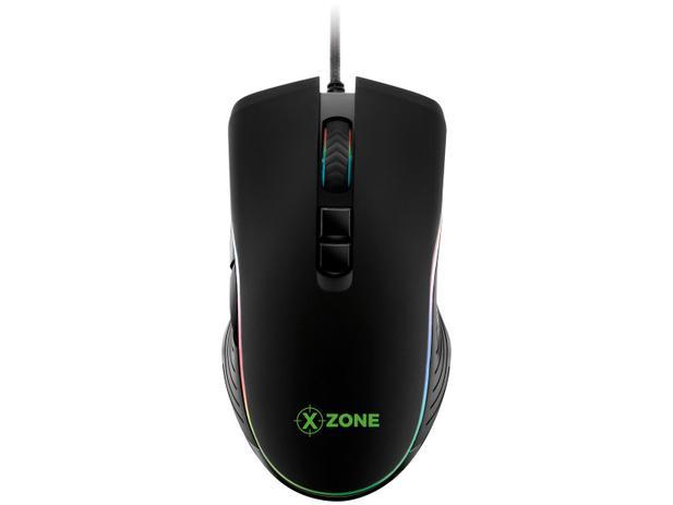 Mouse Optico Usb Gamer Xzone Gmf-01 Rgb 4800 Dpi