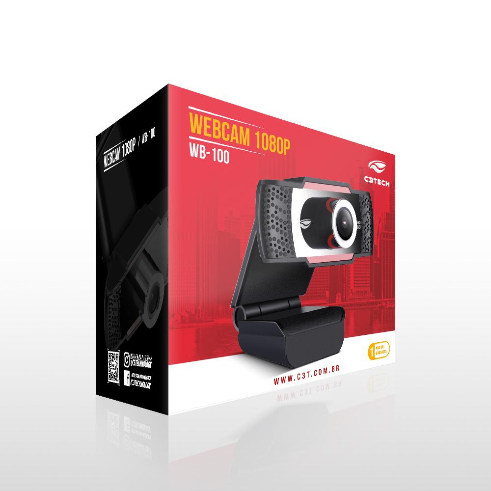 Web Cam C3Tech Wb-100 Full Hd1080P