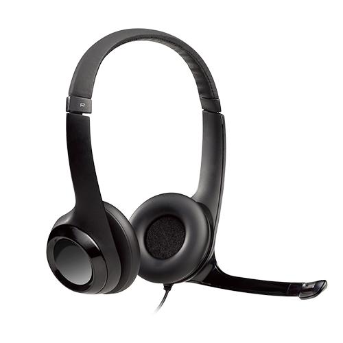Fone+Mic Headset Usb Preto H390 Logitech